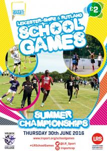 Forget the Football - the School Games Summer Championships is here!