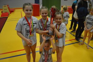 Three of the best for Rutland in School Games Gymnastics