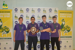 New College Leicester takes the First Team Leicestershire Trophy