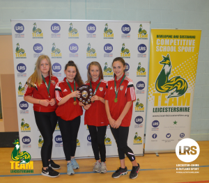 Market Bosworth High School Claims the First Team Leicestershire Girls Trophy of the Year!
