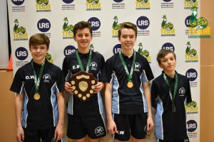 Hastings High School win back to back Team Leicestershire table tennis titles!