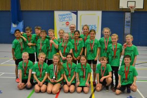 Blaby & Harborough take the Trophy at Year 5/6 Mixed Sportshall Athletics
