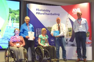 Rutland Sailability Gets National Honour for Services to Disabled Sailing