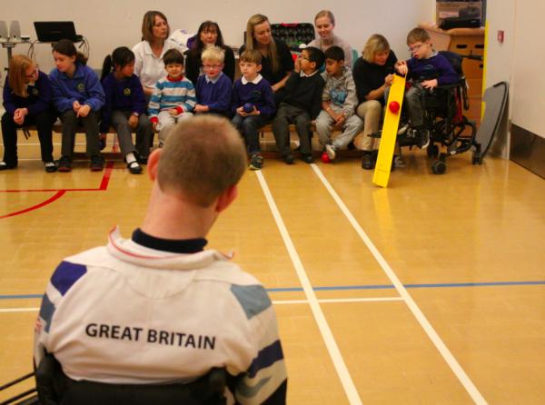 Boccia at Birchwood