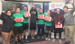 Volleyball England dribble and flick their way to victory at the Workplace Hockey Competition!
