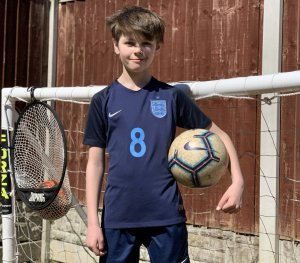 "Blog: ""I have pretty much taken over the garden with football nets"""