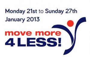 Move More 4 Less Week!