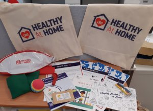 LRS have been distributing #HealthyAtHome packs for children and older adults!