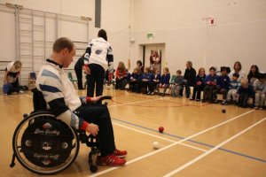 Paralympic GOLD Medalist at Birch Wood